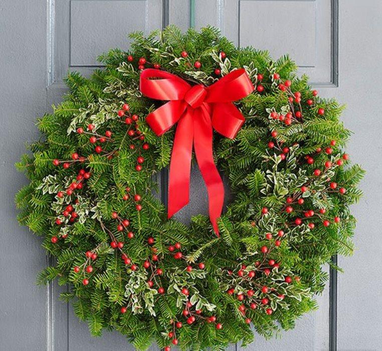 dekorasi natal di apartemen