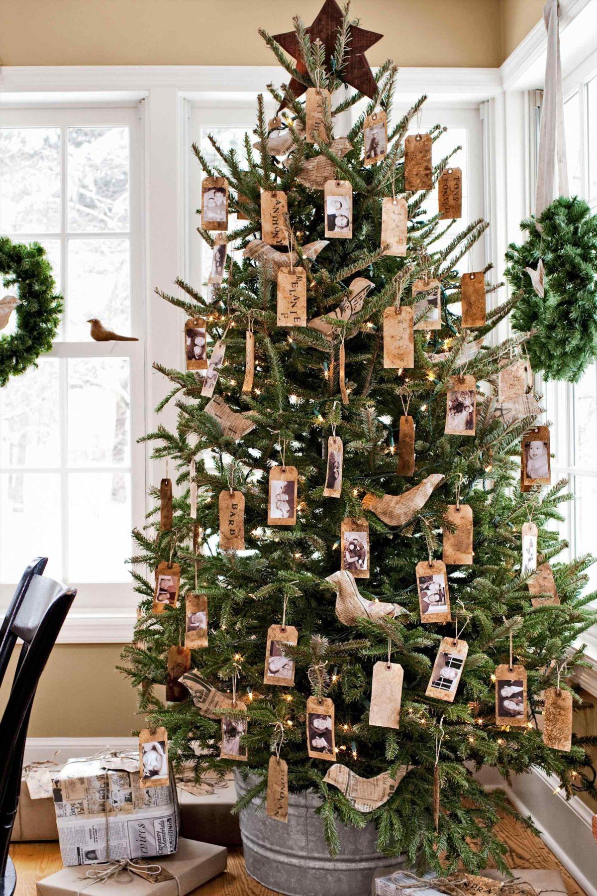 Pohon Natal Rustic