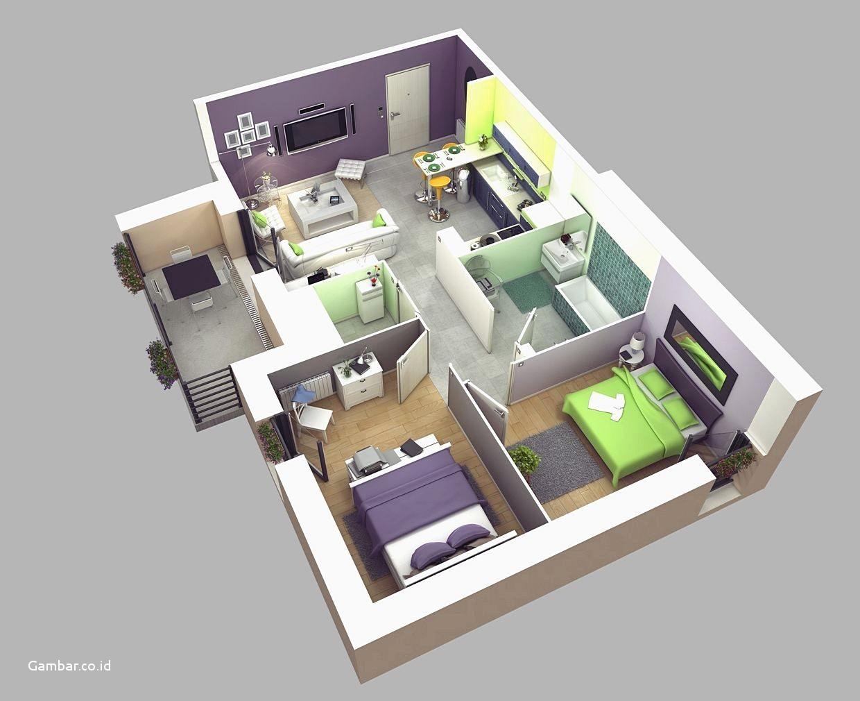 9 Ide Denah Rumah Minimalis Untuk Lahan Sempit Artikel Spacestock