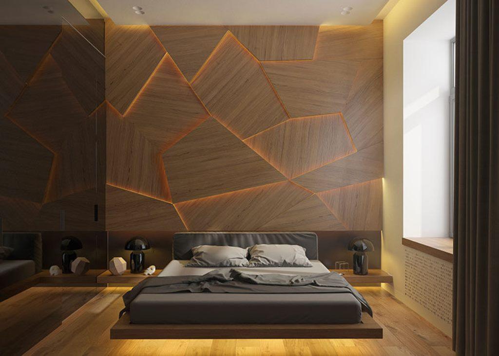 Model Dinding Kayu