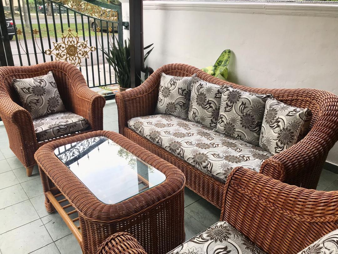 Sofa Rotan