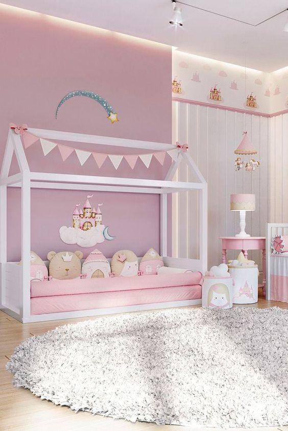 Ala Princess 13 Inspirasi Desain Kamar Tidur Pink Untuk Si Buah Hati Artikel Spacestock
