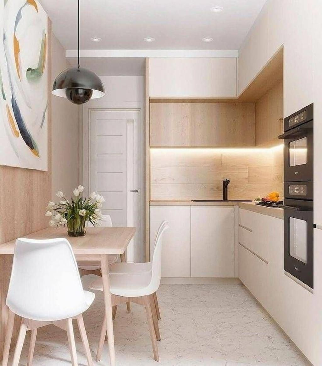 Inspirasi Desain Kitchen Set Mini Namun Tetap Elegan Artikel Spacestock