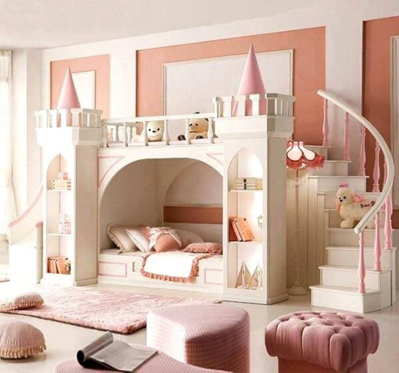 Ala Princess, 13 Inspirasi Desain Kamar Tidur Pink untuk ...