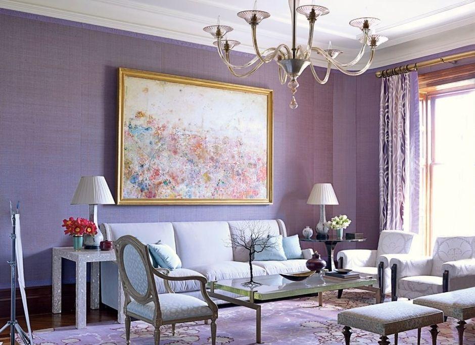 Warna Lavender Ruangan