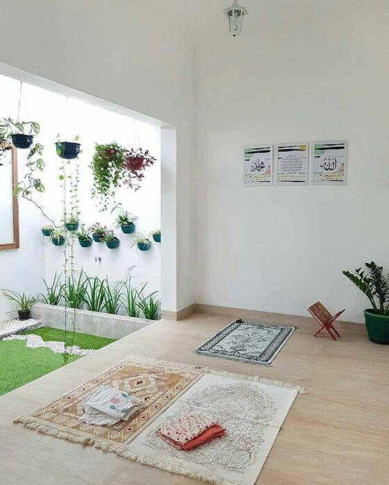 Bikin Ibadah Makin Khusuk 15 Tips Desain Musholla Dalam Rumah Minimalis Artikel Spacestock