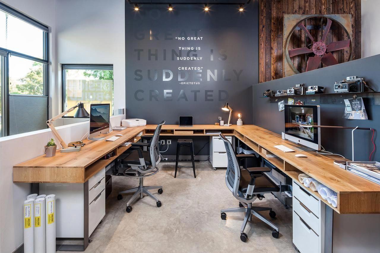 12 Tips Menyulap Dekorasi Ruang Kantor Sempit Jadi Terasa Lega Artikel Spacestock Desain kantor kecil