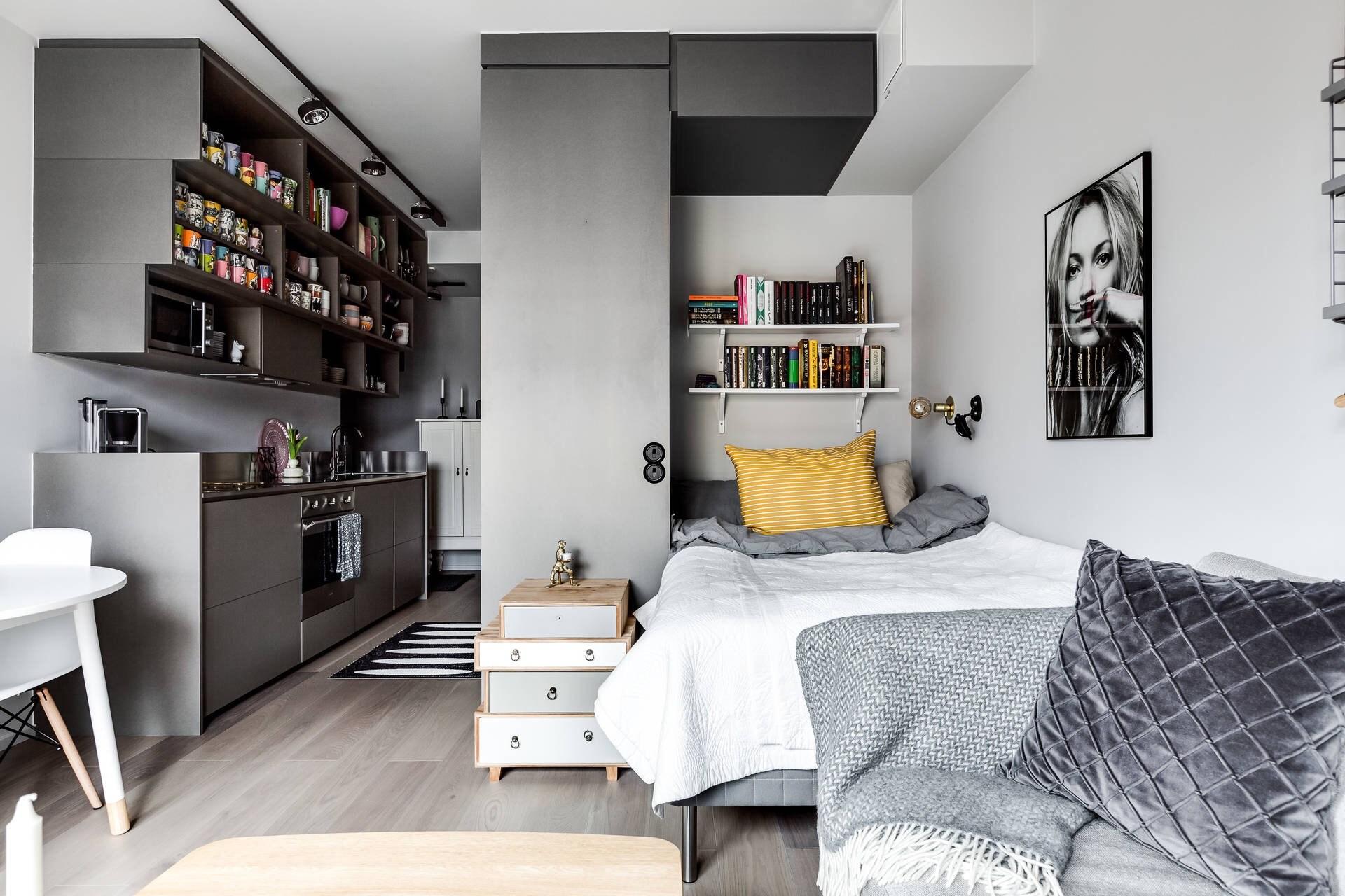 Desain Apartemen Studio Minimalis Yang Nyaman Intip 9 Inspirasinya Artikel Spacestock