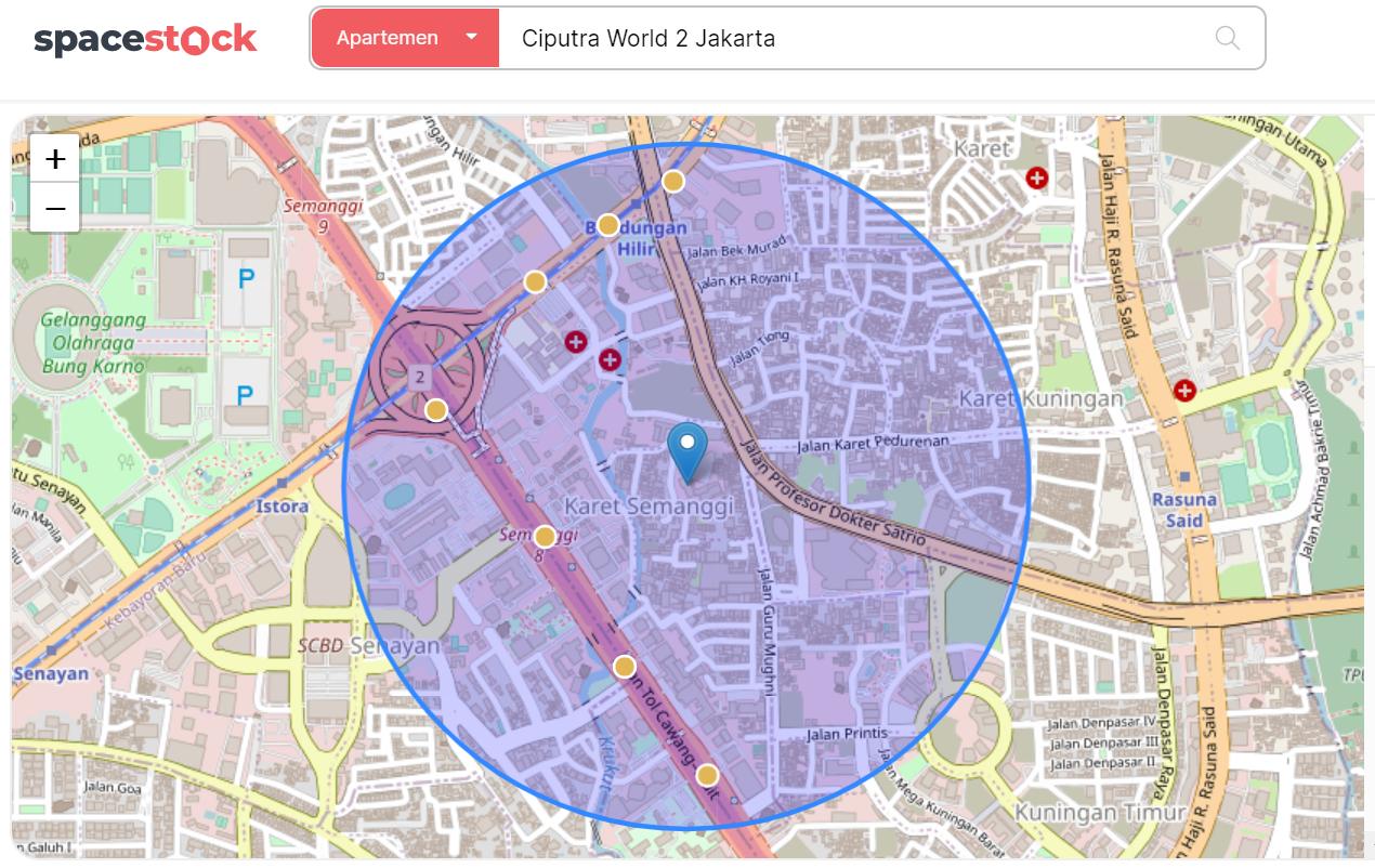 Apartemen Ciputra World 2 Jakarta