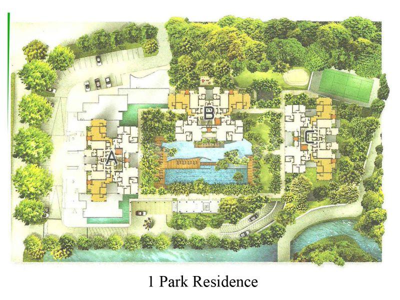 1 park recidence