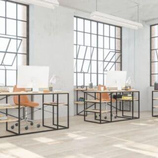 Dekorasi Ruang Kantor Sempit