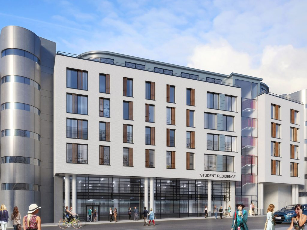 Student accommodation From here: Galway Central | Fresh