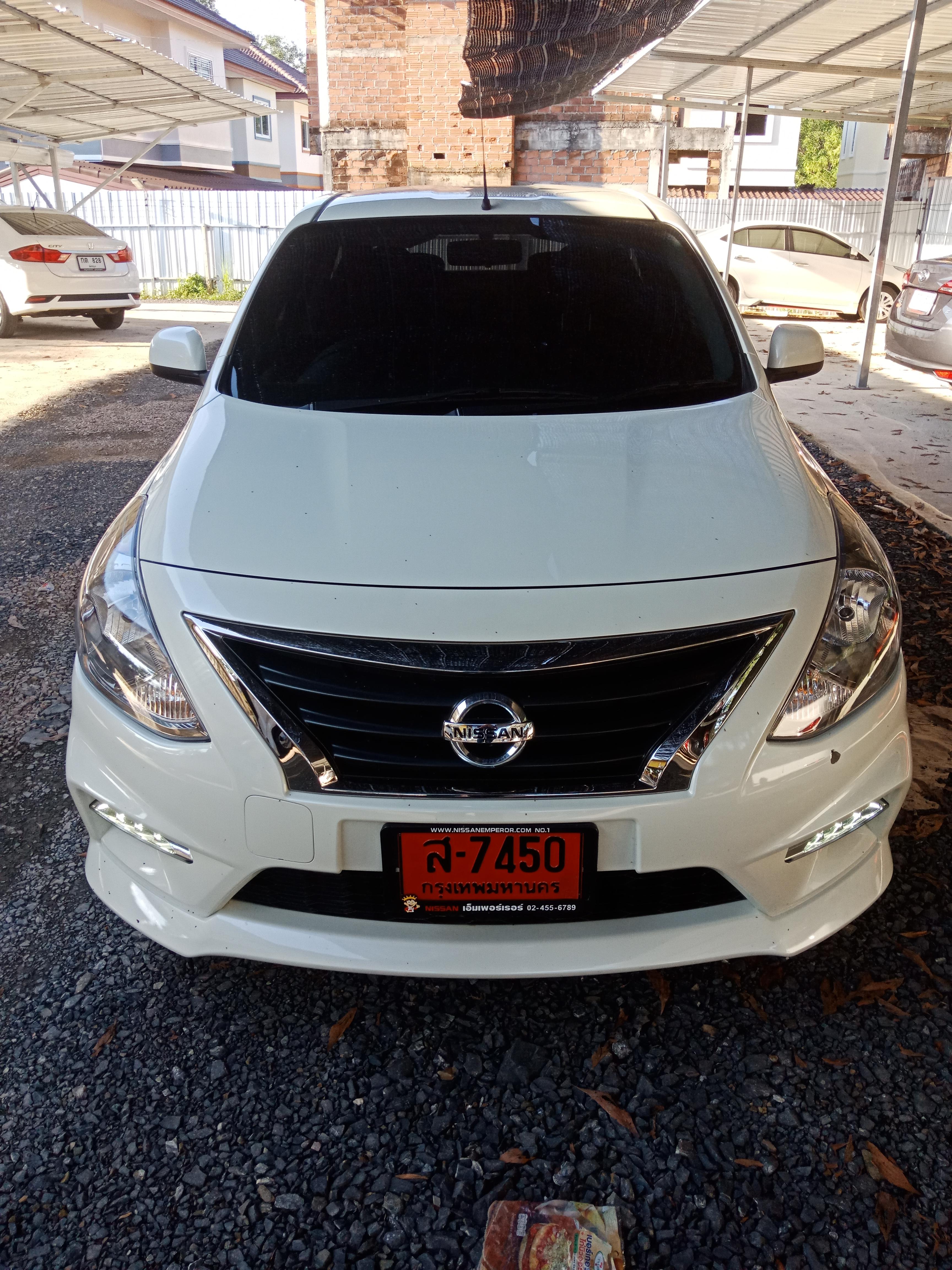 เช่ารถ รถเช่า ตรัง Nissan Almera 2018