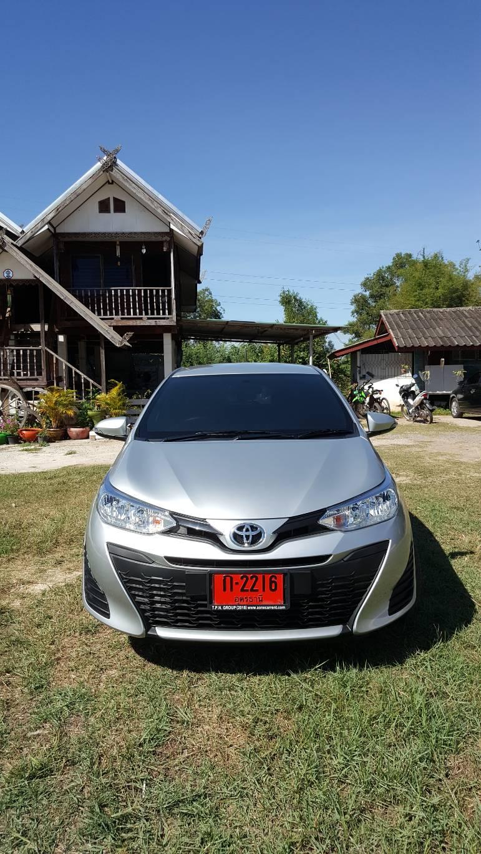 เช่ารถ รถเช่า อุดรธานี Toyota Yaris 2018