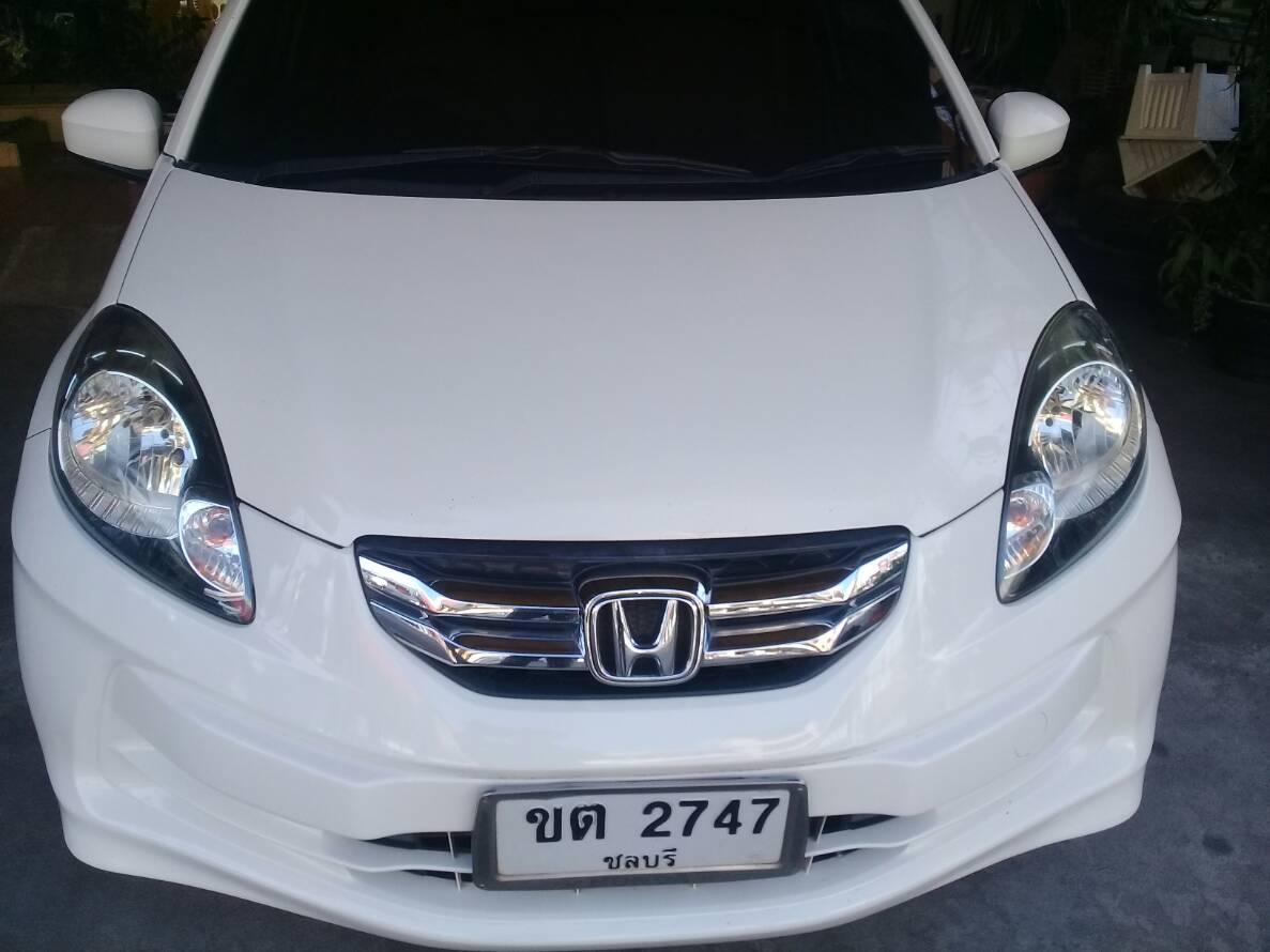 เช่ารถ รถเช่า พัทยา Honda Amaze 2013