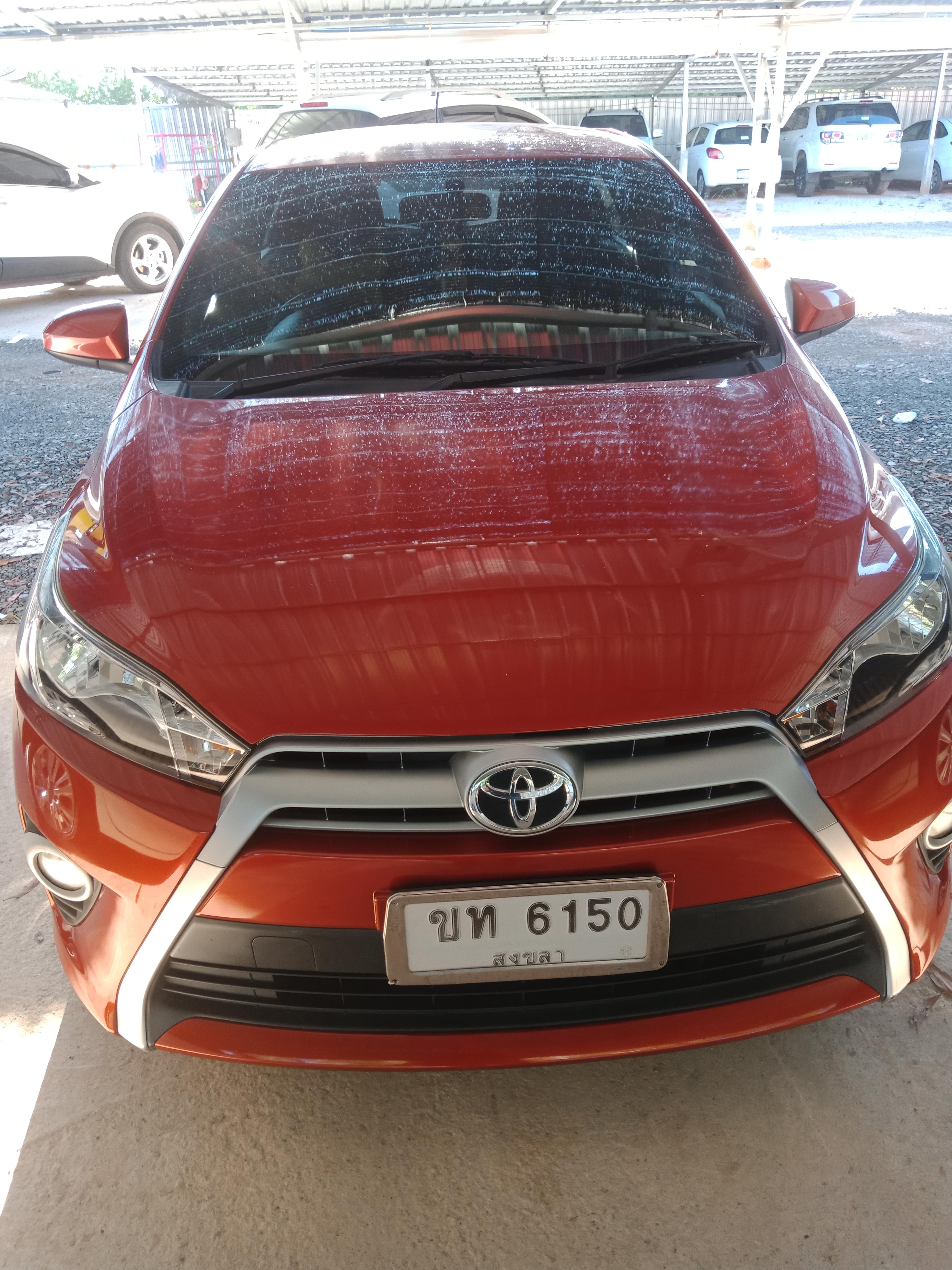 เช่ารถ รถเช่า ตรัง Toyota Yaris 2016
