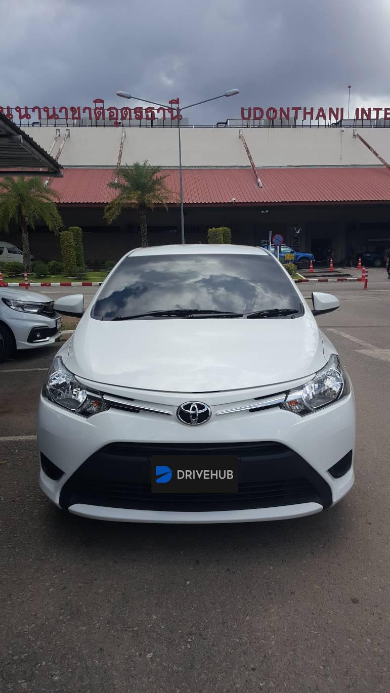 เช่ารถ รถเช่า อุดรธานี Toyota Vios 2015