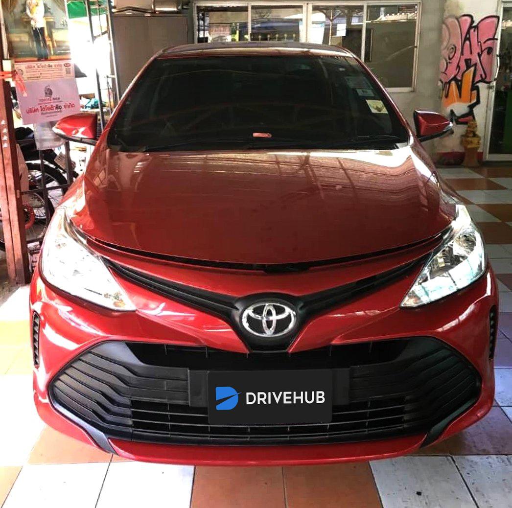 เช่ารถ รถเช่า ภูเก็ต Toyota Vios 2017