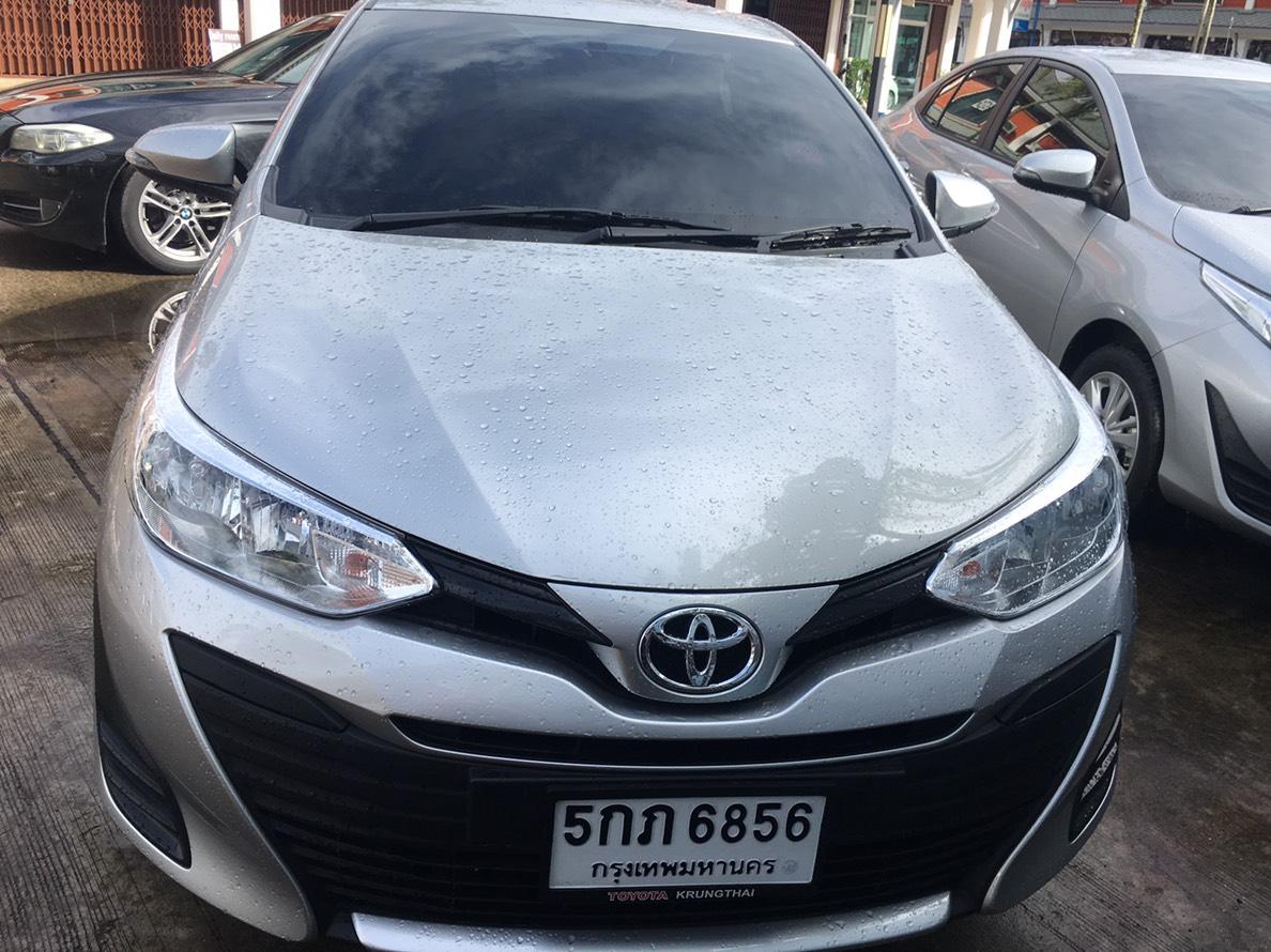เช่ารถ รถเช่า สุราษฎร์ธานี Toyota Yaris 2018