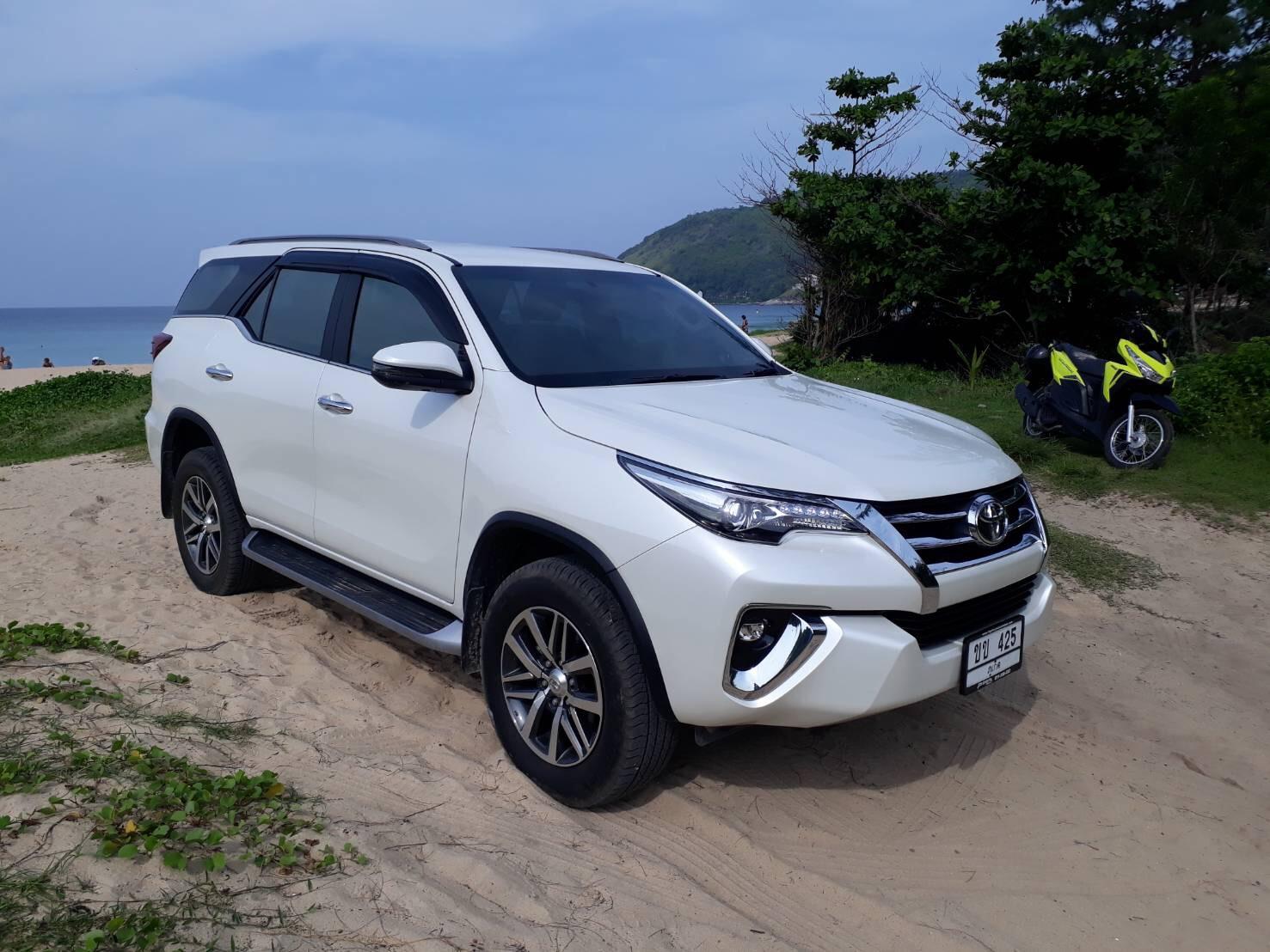 เช่ารถ รถเช่า ภูเก็ต Toyota Fortuner 2018