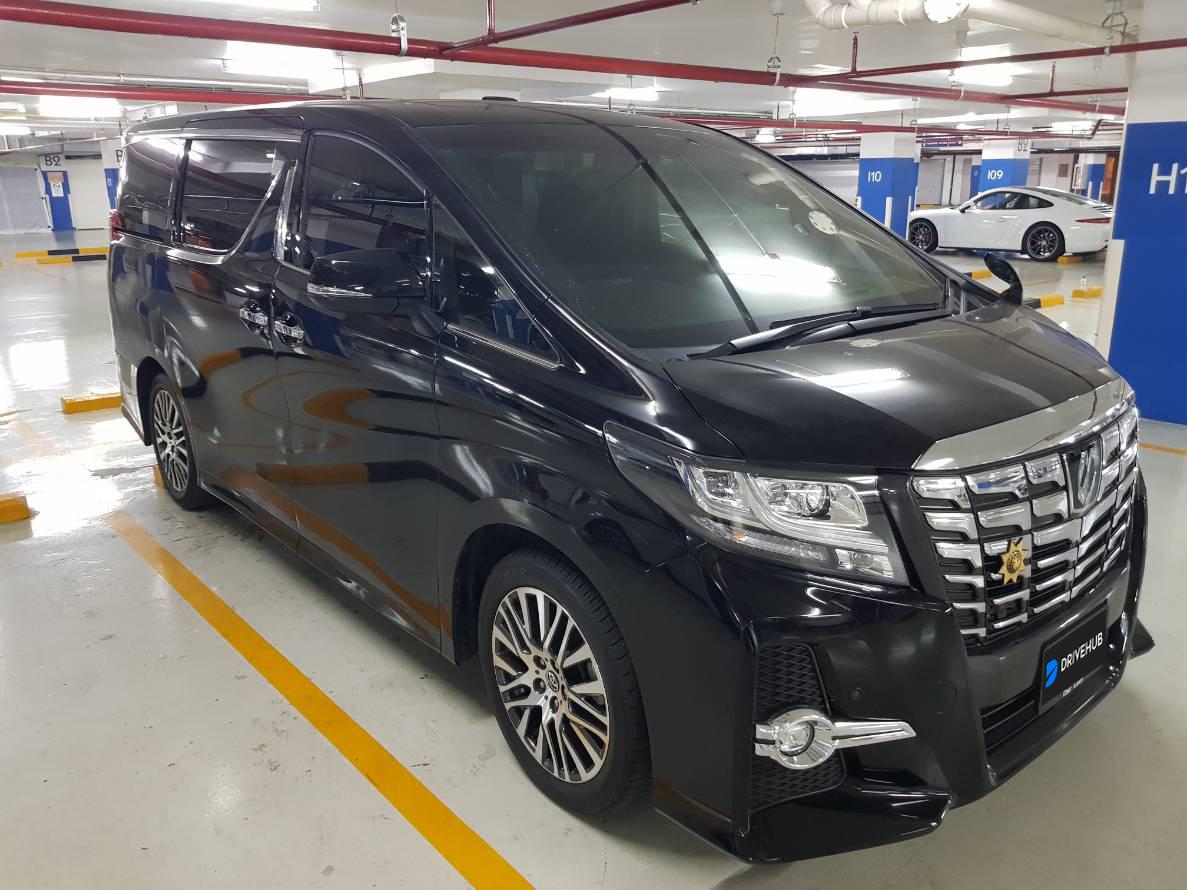 เช่ารถ รถเช่า ชลบุรี Toyota Alphard 2018