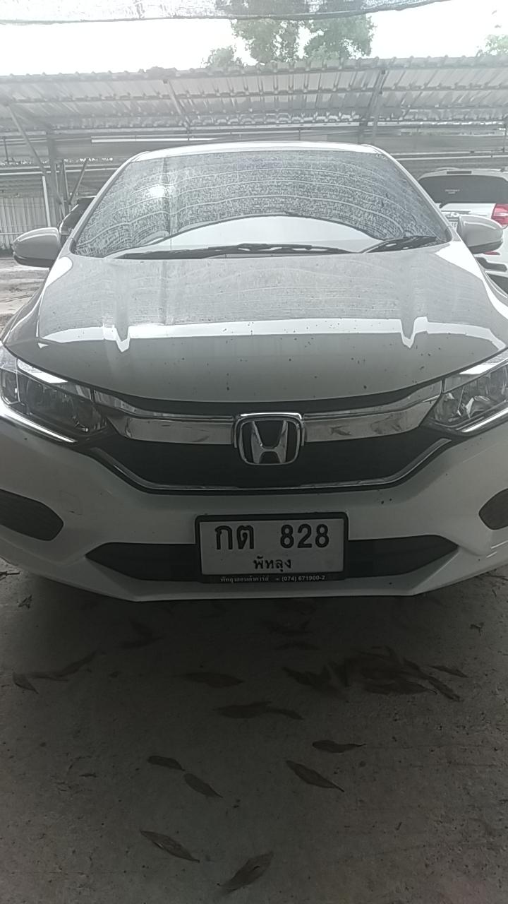 เช่ารถ รถเช่า หาดใหญ่ Honda City 2018