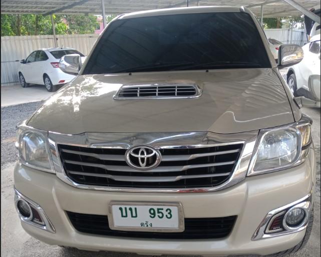 เช่ารถ รถเช่า ตรัง Toyota Vigo 2013