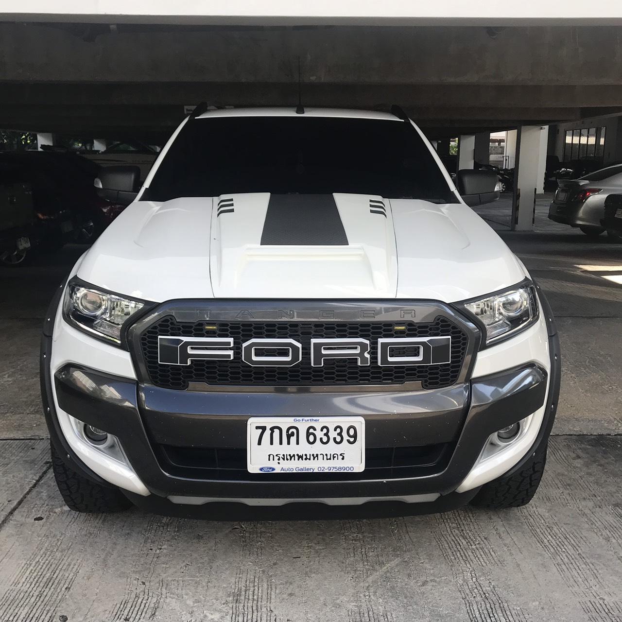 เช่ารถ รถเช่า ชลบุรี Ford Ranger 2018