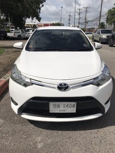 เช่ารถ รถเช่า หาดใหญ่ Toyota Vios 2014