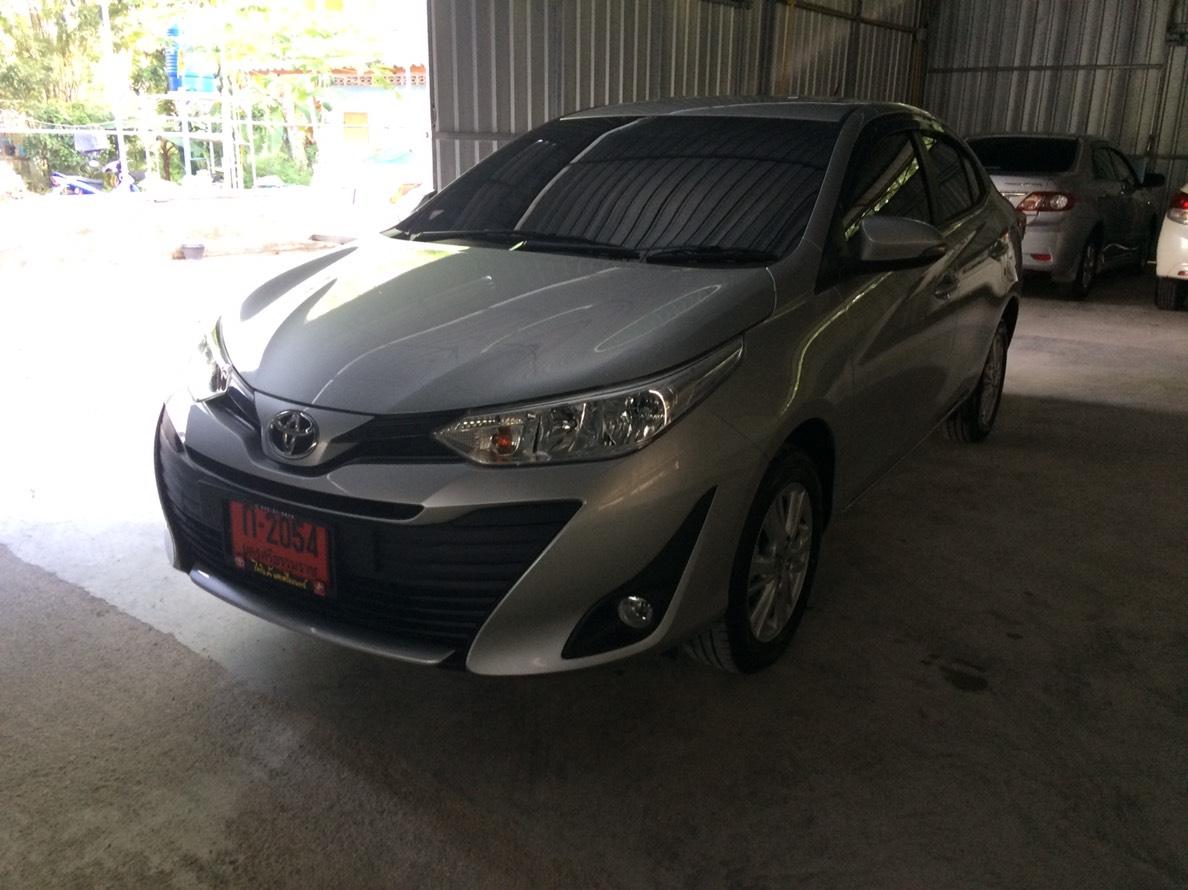 เช่ารถ รถเช่า นครศรีธรรมราช Toyota Yaris 2018