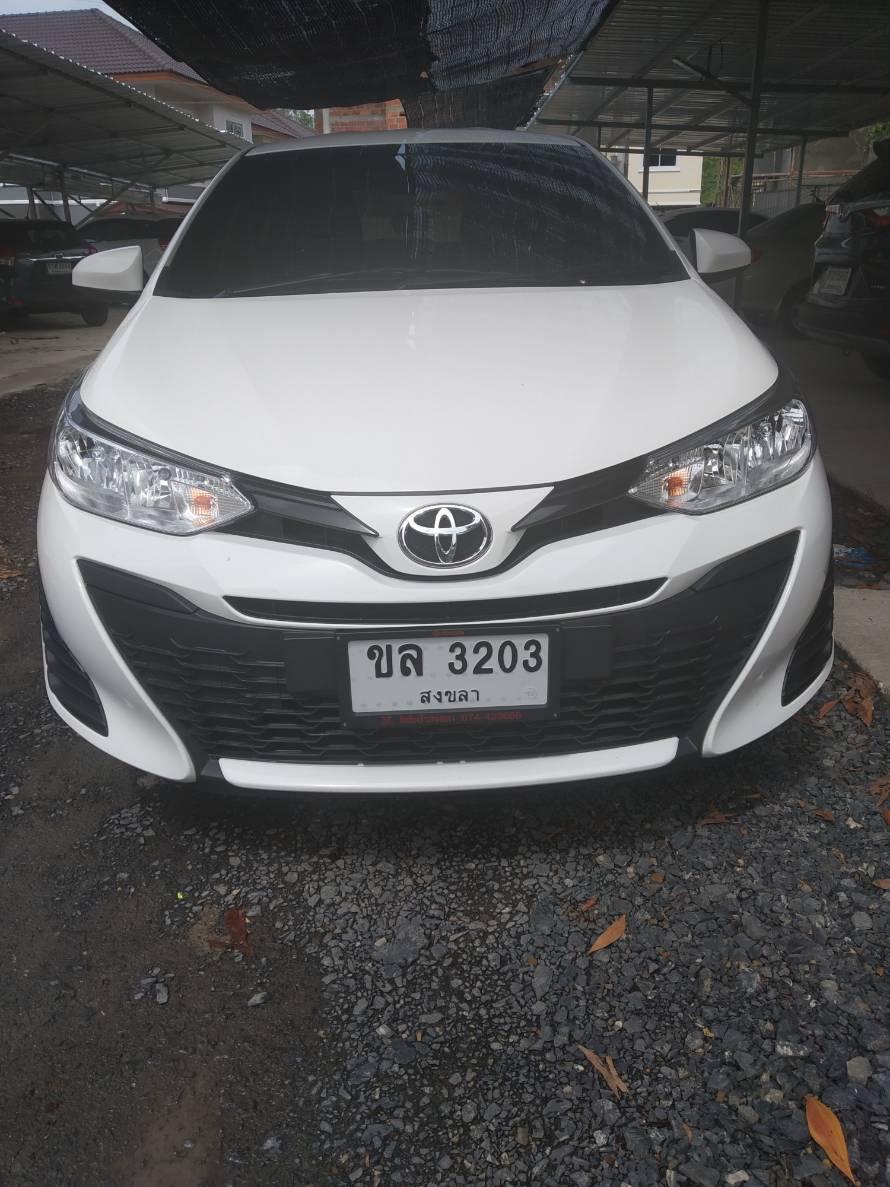 เช่ารถ รถเช่า ตรัง Toyota Yaris 2018