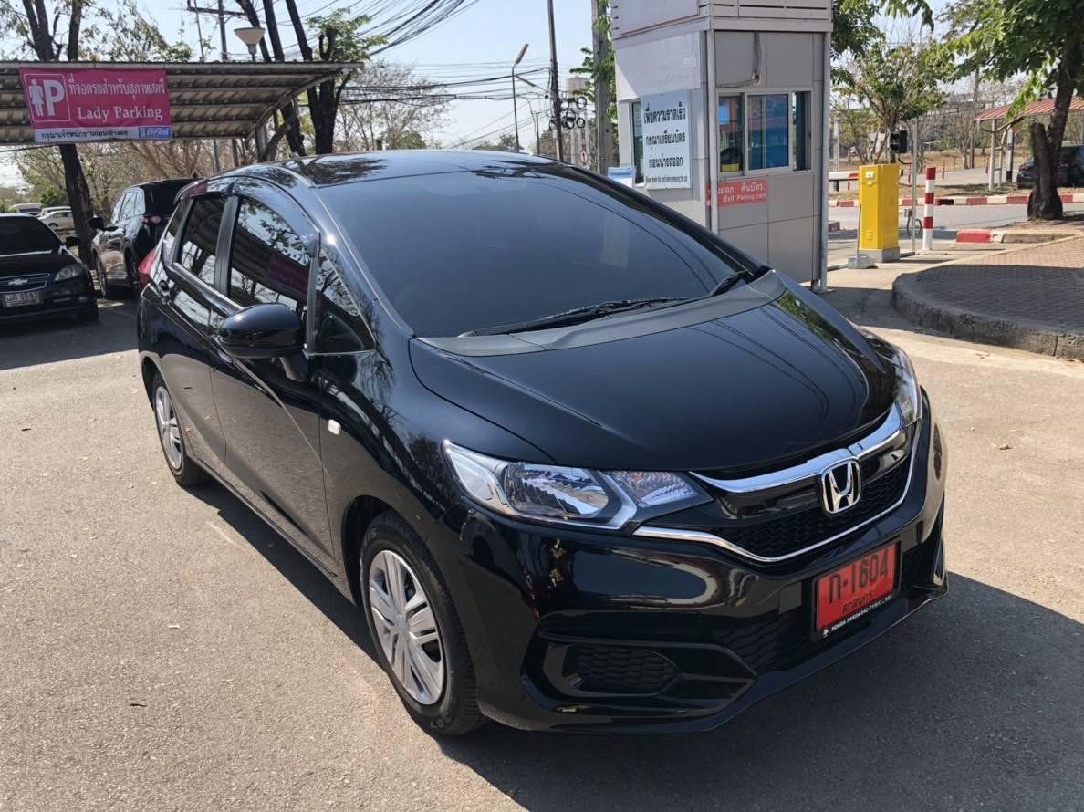 เช่ารถ รถเช่า อุดรธานี Honda Jazz 2019
