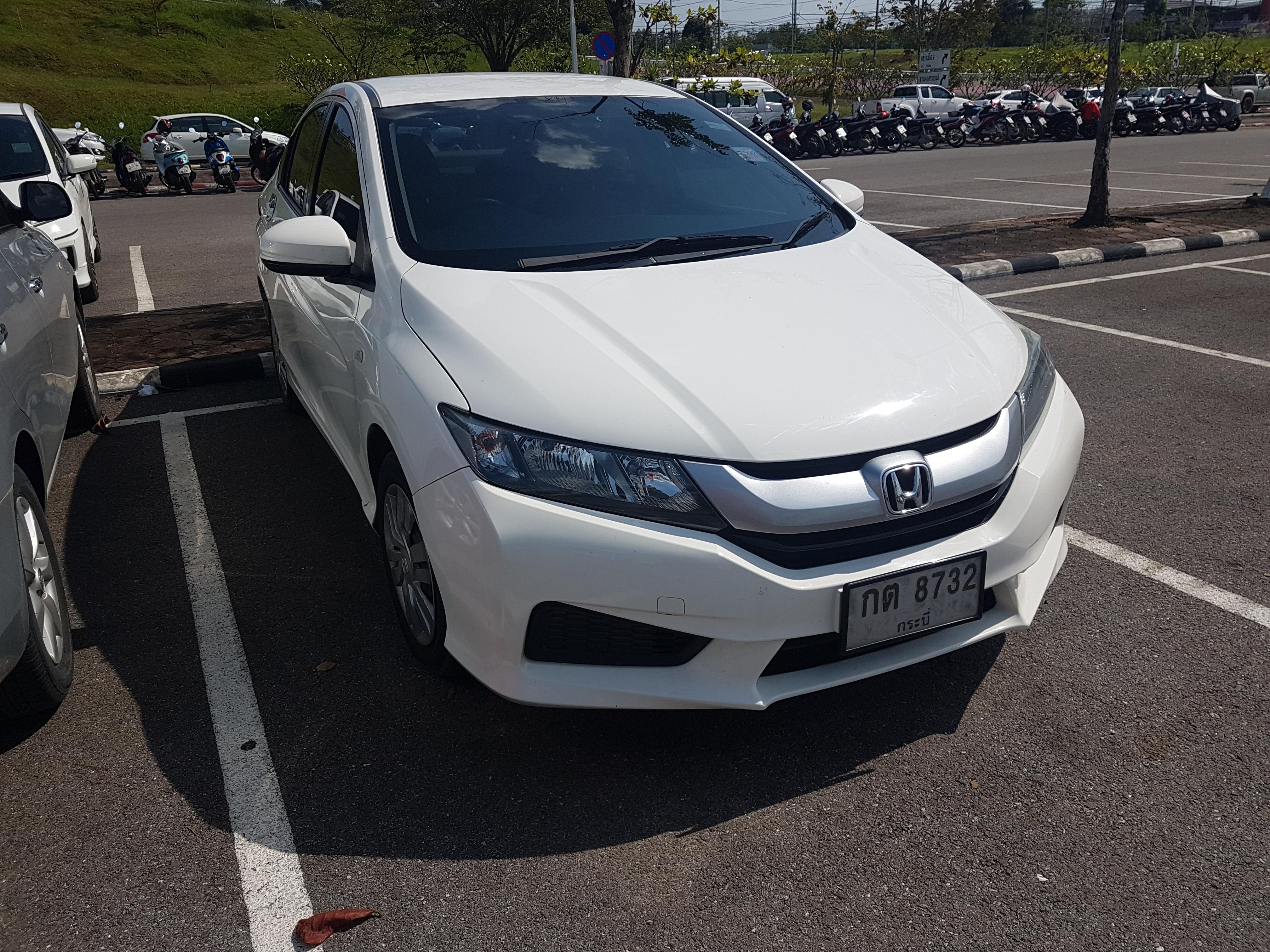 เช่ารถ รถเช่า กระบี่ Honda City 2015