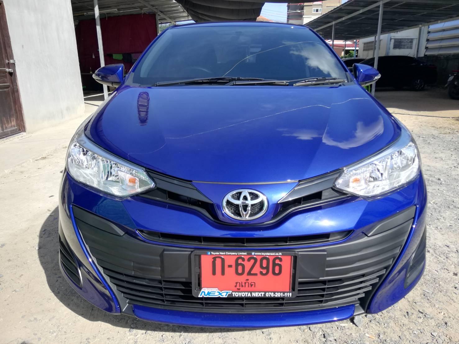 เช่ารถ รถเช่า ภูเก็ต Toyota Yaris 2019