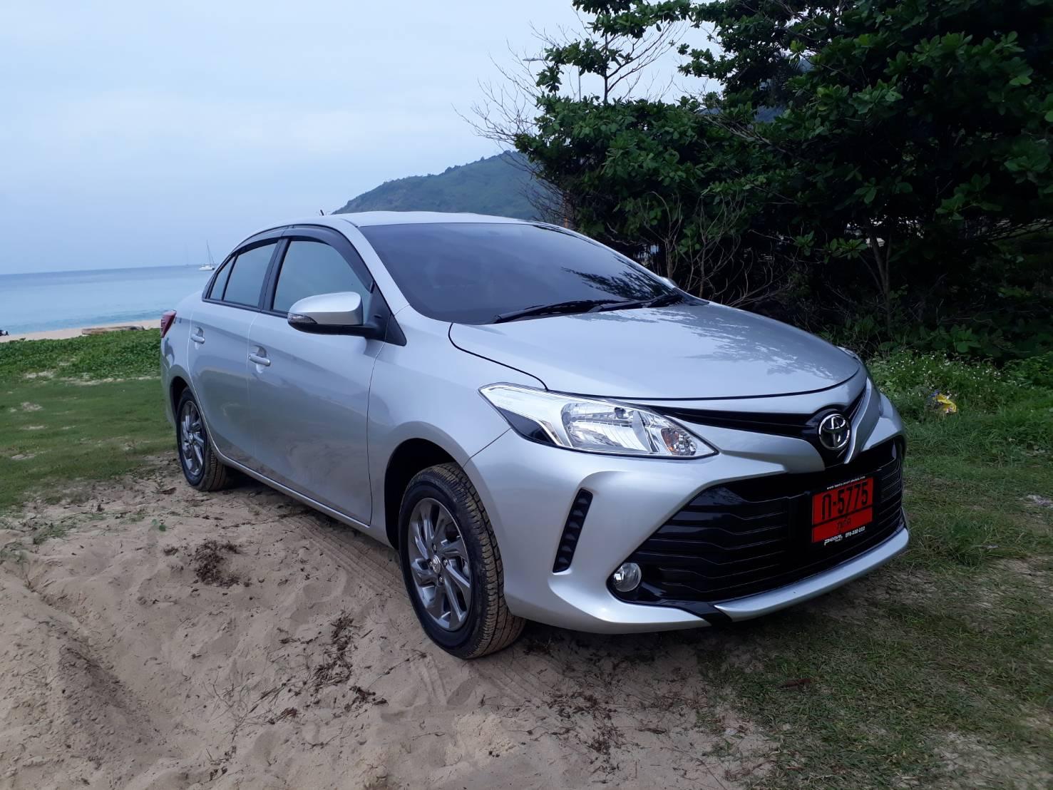 เช่ารถ รถเช่า ภูเก็ต Toyota Vios 2018