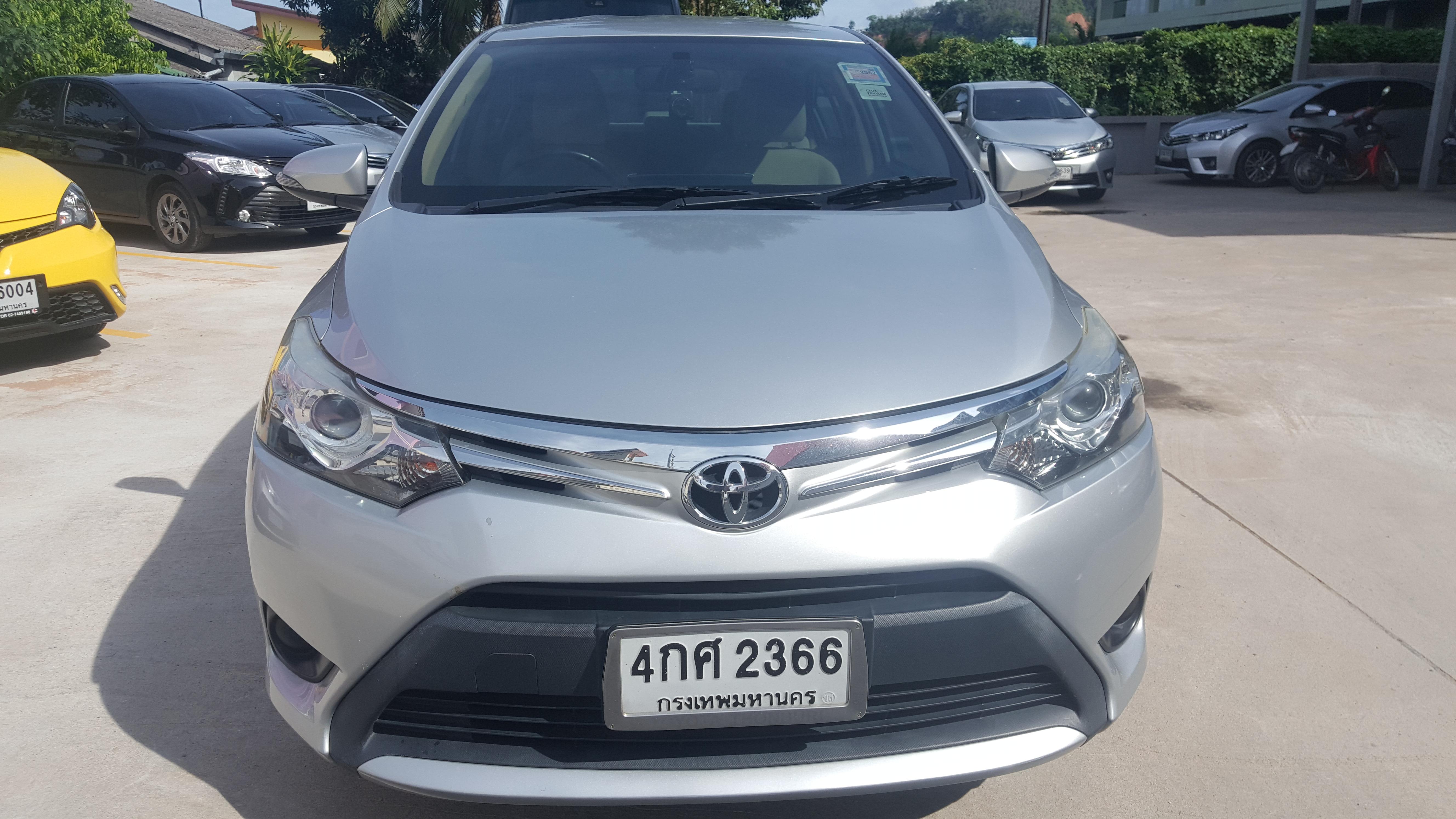 เช่ารถ รถเช่า ภูเก็ต Toyota Vios 2013