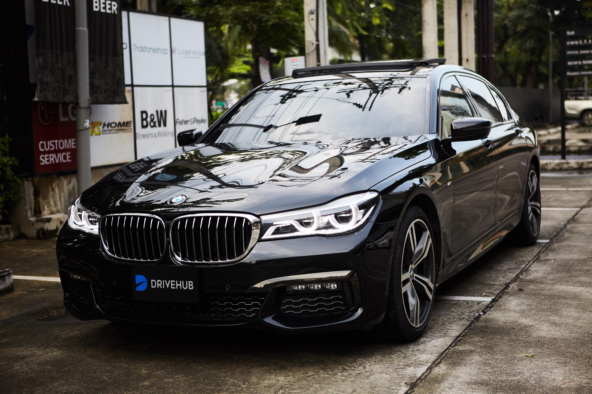 เช่ารถ รถเช่า พัทยา BMW Series 7 2018