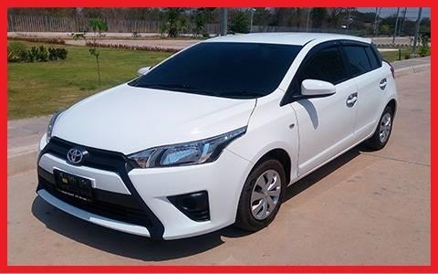 เช่ารถ รถเช่า อุดรธานี Toyota Yaris 2017