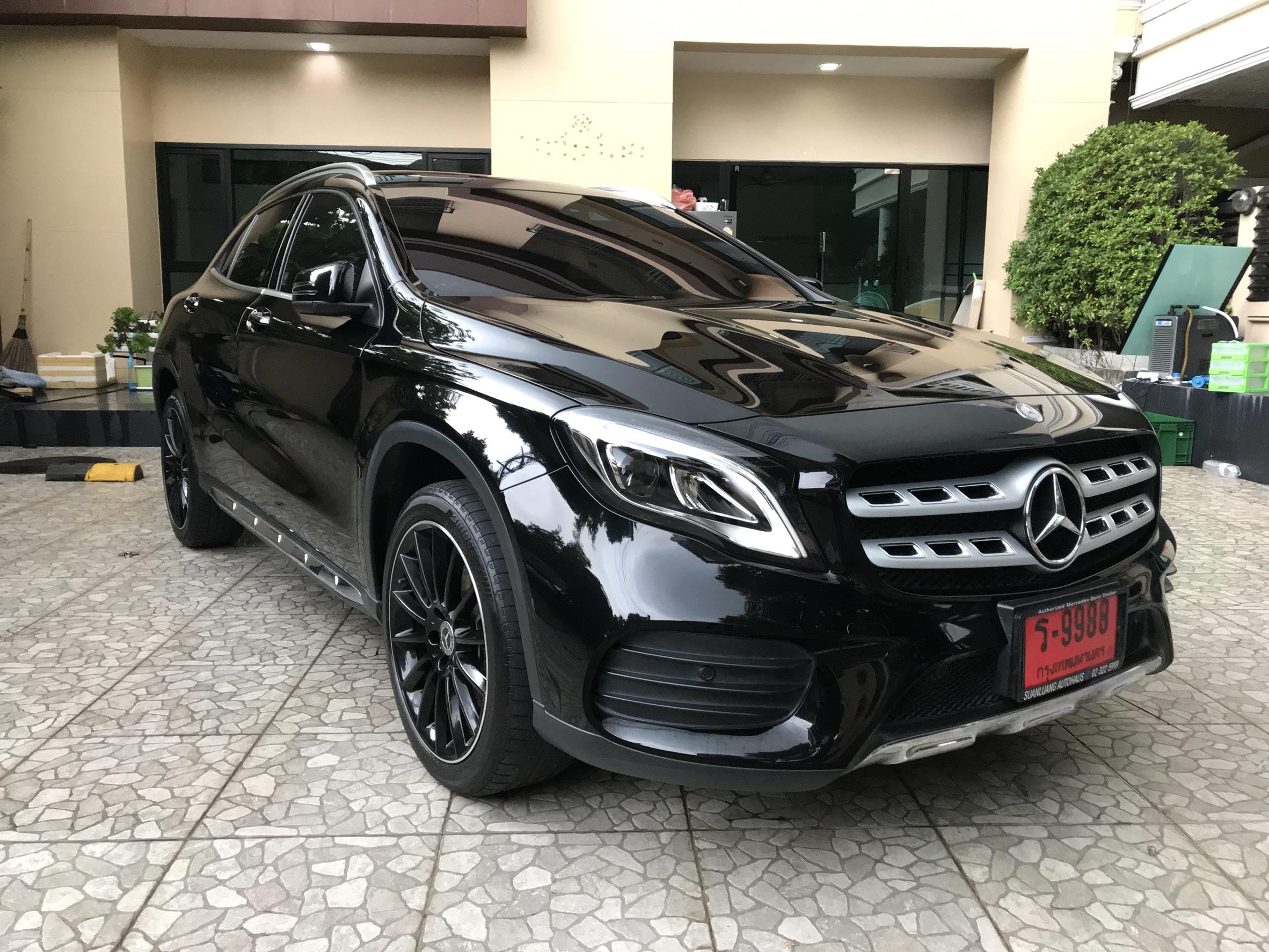 เช่ารถ รถเช่า พัทยา Mercedes Benz GLA Class 2018