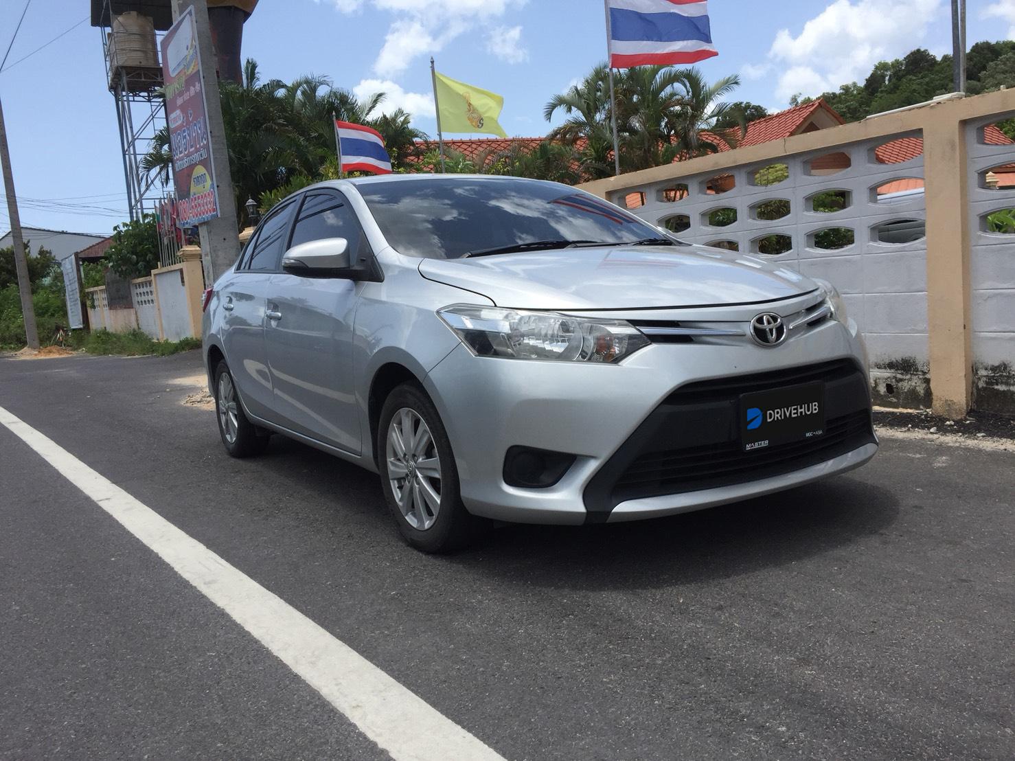เช่ารถ รถเช่า หาดใหญ่ Toyota Vios 2015