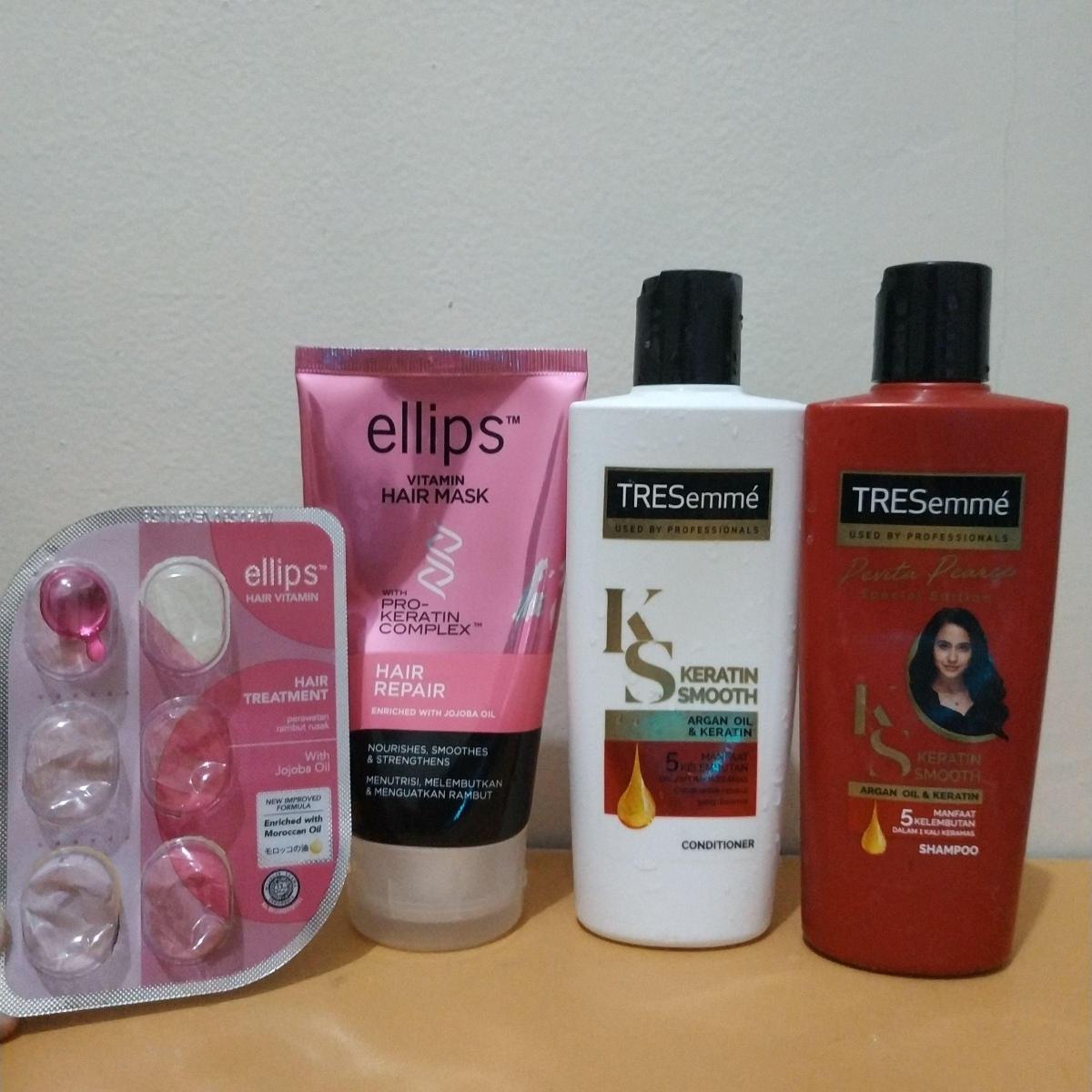 Ellips Vitamin Hair Mask Hair Repair Review Female Daily