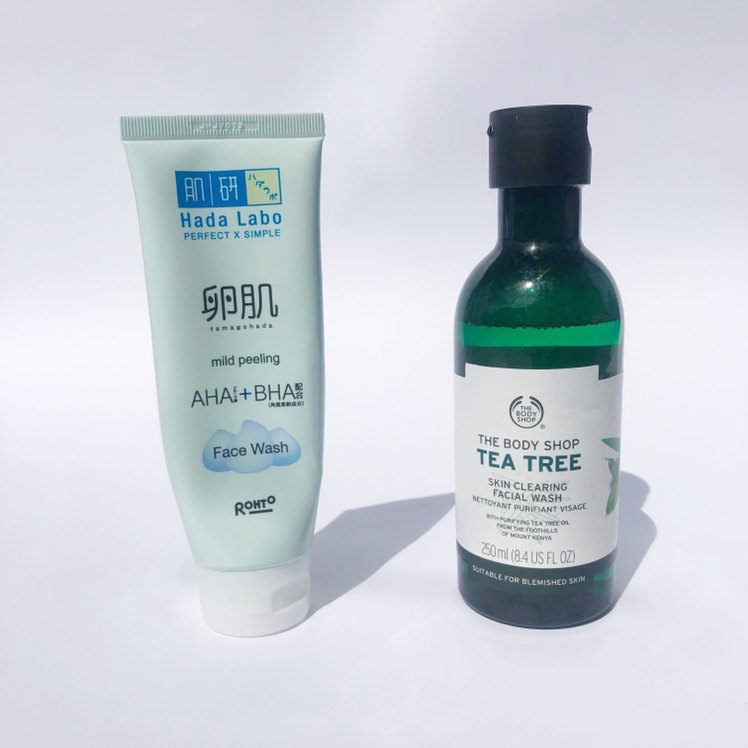 The Body Shop Tea Tree Skin Clearing Facial Wash Review Female Daily