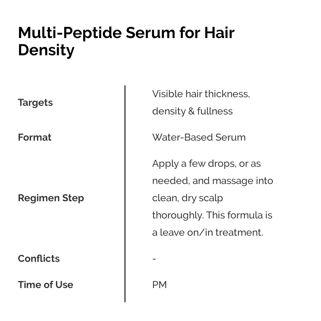 The Ordinary Multi Peptide Serum For Hair Density Review Female Daily