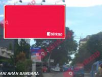 sewa media Billboard Billboard Jl. Sudirman {Depan Hotel Peninsula} (A) (B) KOTA MANADO Street