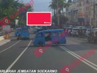 sewa media Billboard Jl. Piere Tendean – Boulevard marina Plaza (A) KOTA MANADO Street