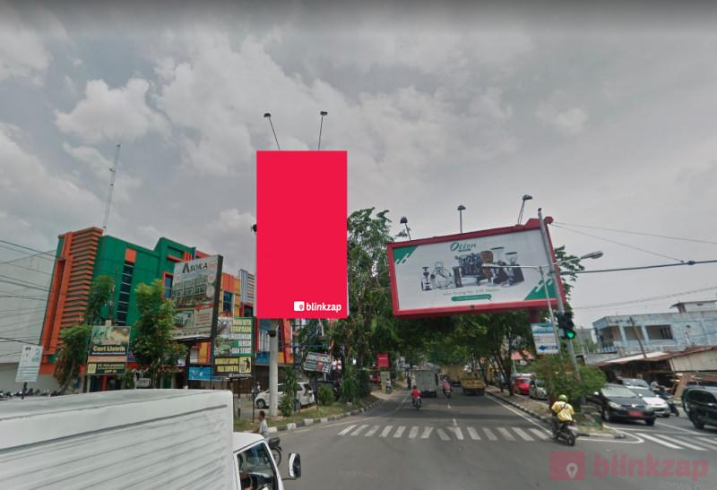 Sewa Billboard - Billboard Jl. Ringroad Simp. Bunga Asoka Medan - kota medan