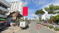 sewa media Banner Billboard Jl. Jend sudirman - Bank Sinar Mas KOTA BALIKPAPAN Street