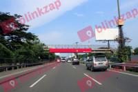 sewa media Billboard JPO Jl Tol CTC Sedyatmo Km 30+000 BY KOTA JAKARTA BARAT Street
