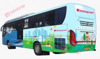 sewa media Vehicle Branding BUS BRANDING KOTA JAKARTA SELATAN Street