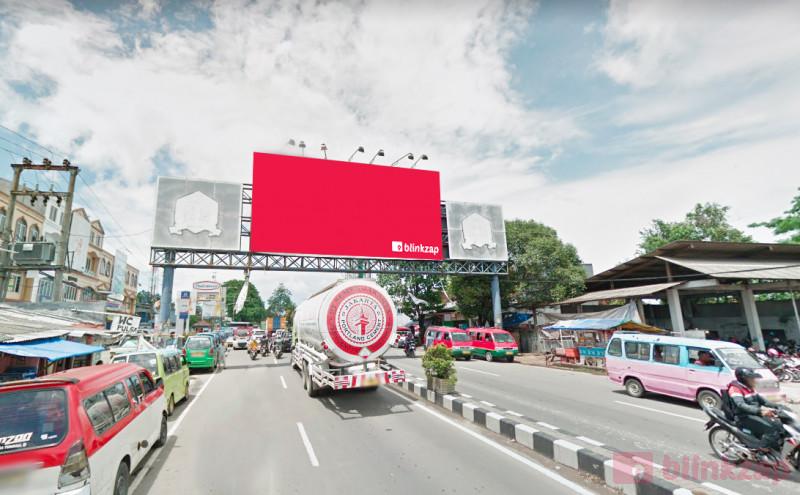 Sewa Billboard - Billboard JL.Raya Serang (Dekat Terminal Pakupatan) - kota serang